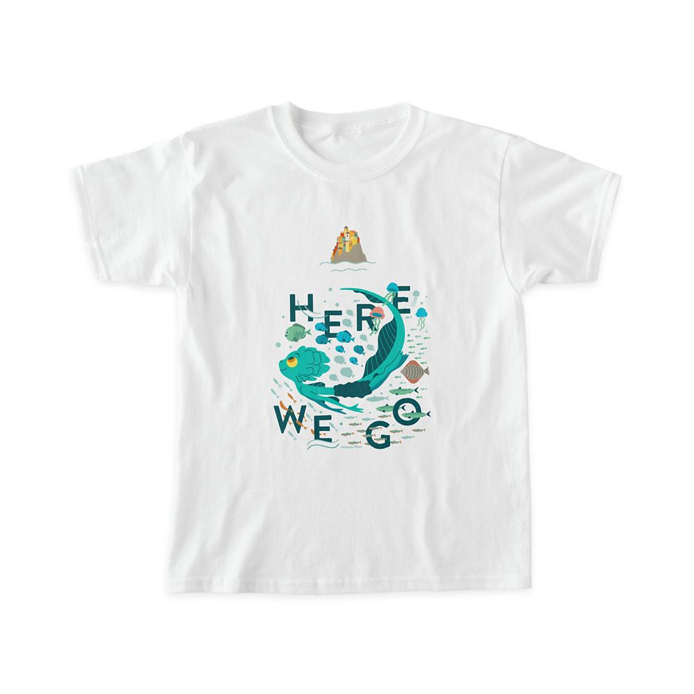 Luca ''Here We Go'' T-Shirt for Kids – Customized
