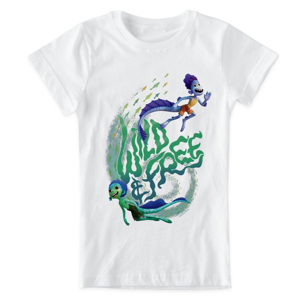 Luca ''Wild&Free'' T-Shirt for Kids – Customized