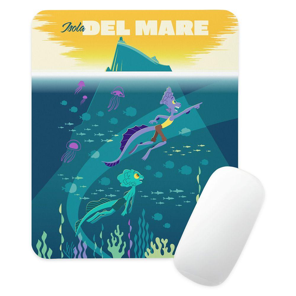 Luca: Alberto&Luca Swim by Isola Del Mare Mouse Pad – Customized