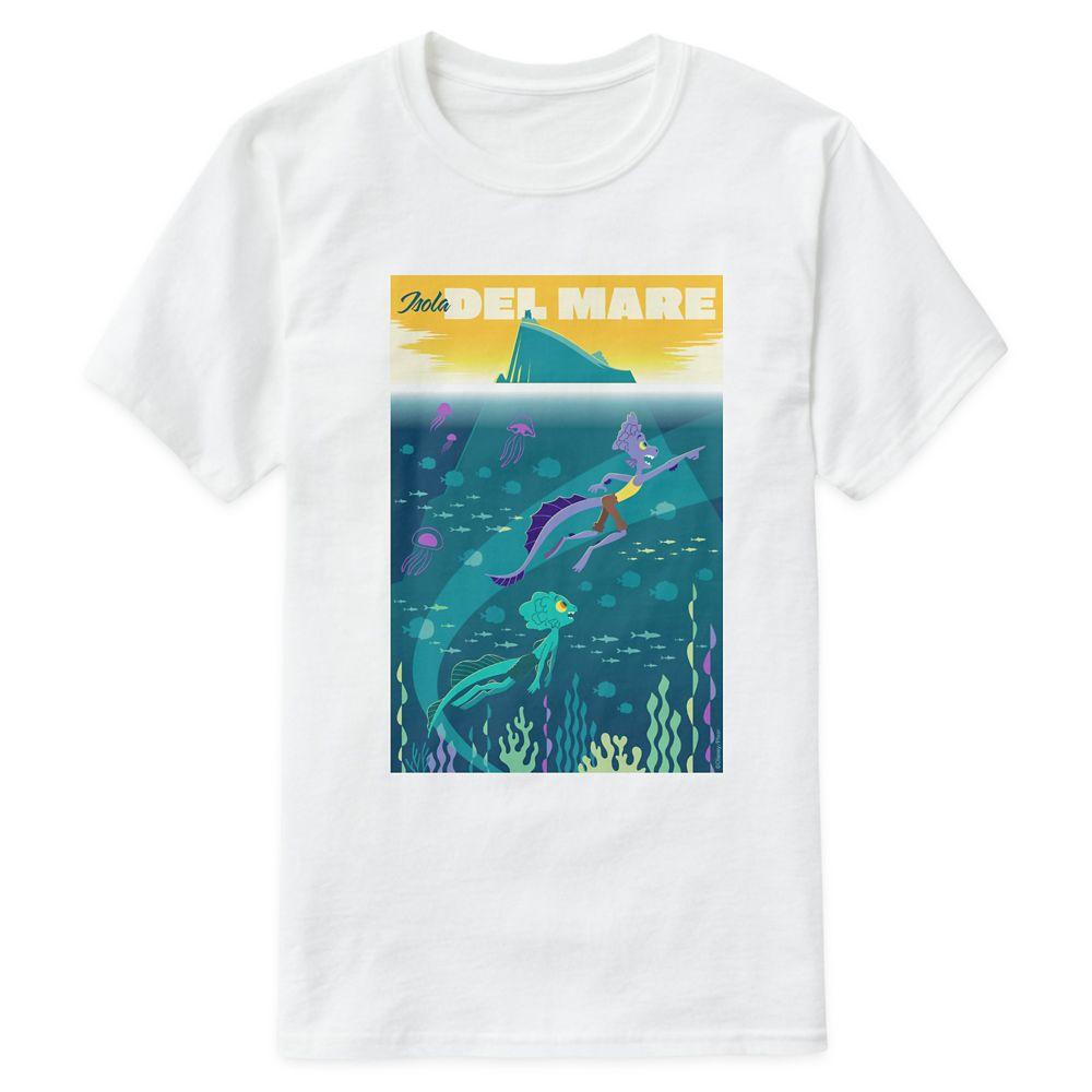 Luca: Alberto&Luca Swim by Isola Del Mare T-Shirt for Men – Customized