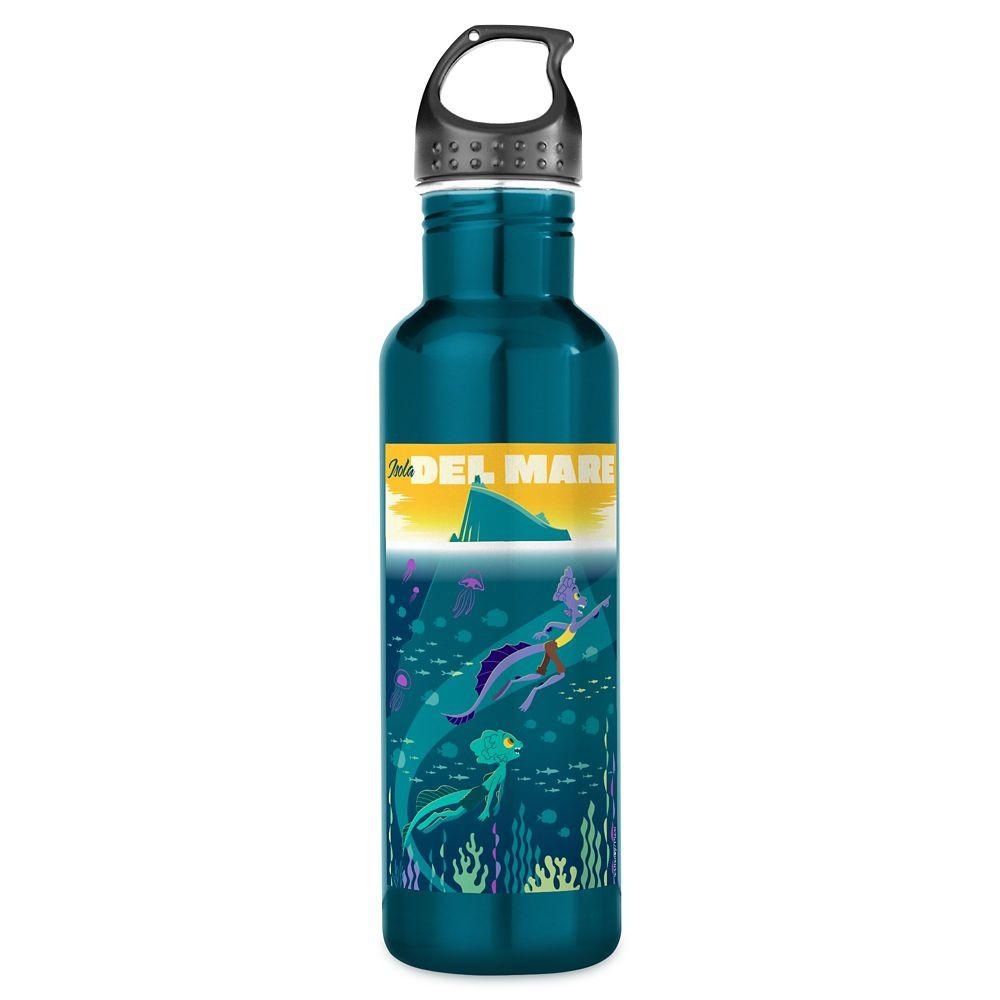 Luca: Alberto&Luca Swim by Isola Del Mare Stainless Steel Water Bottle – Customized