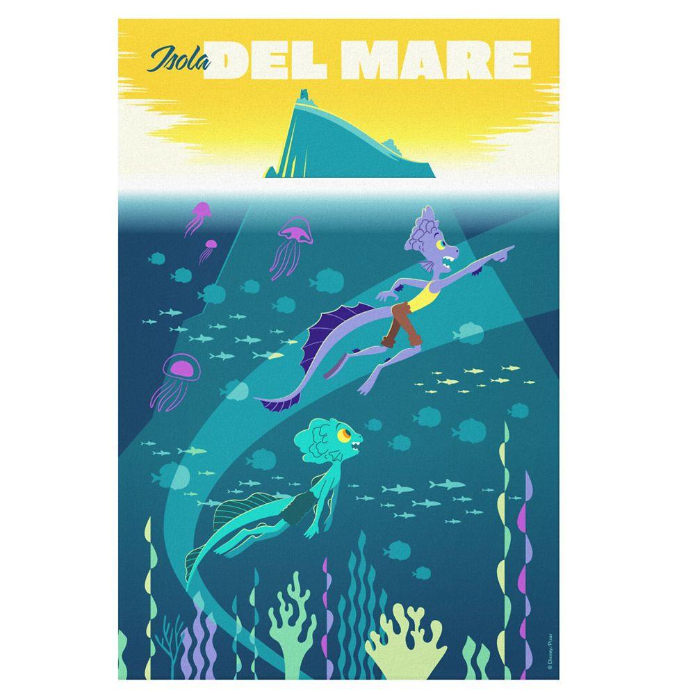 Luca: Alberto&Luca Swim by Isola Del Mare Canvas Print – Customized