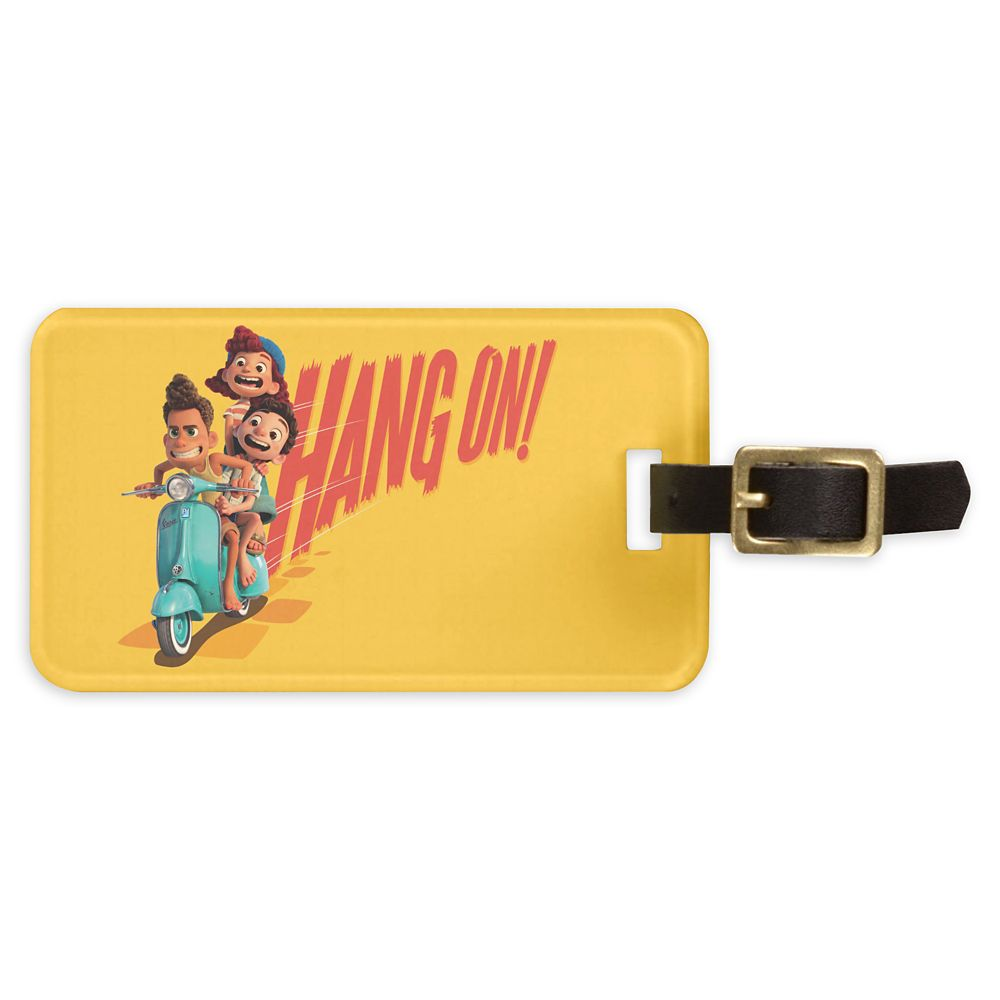 Luca: ''Hang On!'' Luggage Tag – Customized