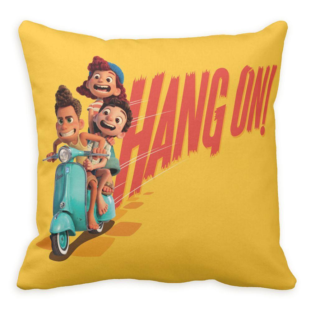 Luca: ''Hang On!'' Throw Pillow – Customized