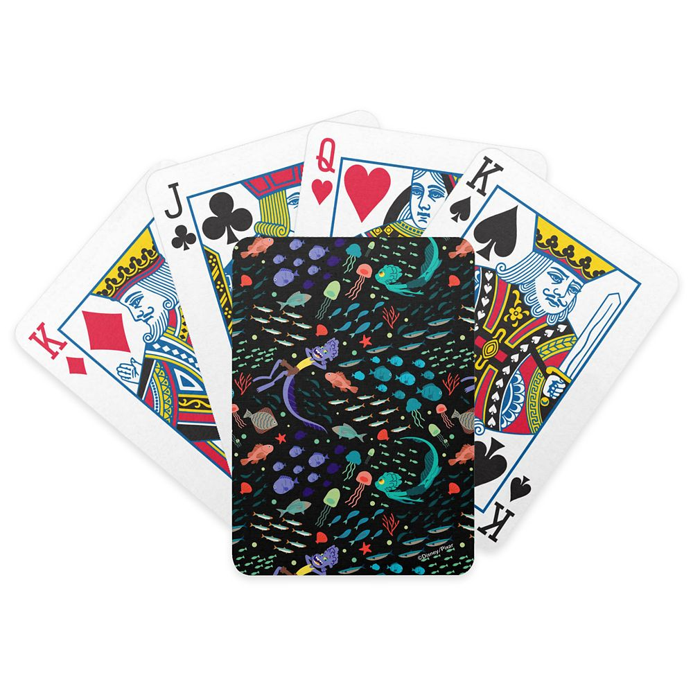Luca: Alberto&Luca Swimming with Fish Bicycle Playing Cards – Customized
