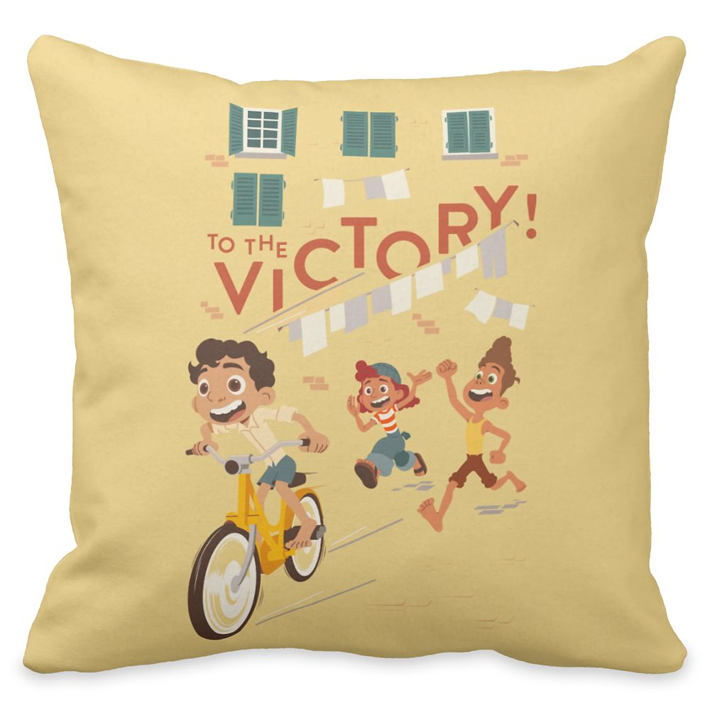 Luca: ''To the Victory'' Throw Pillow – Customized