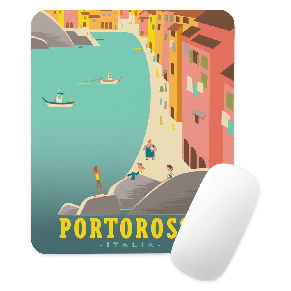 Luca: Portorosso Vintage Illustration Mouse Pad – Customized