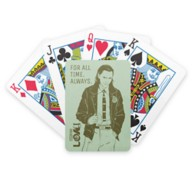 Loki Character Line Art Bicycle Playing Cards – Customized