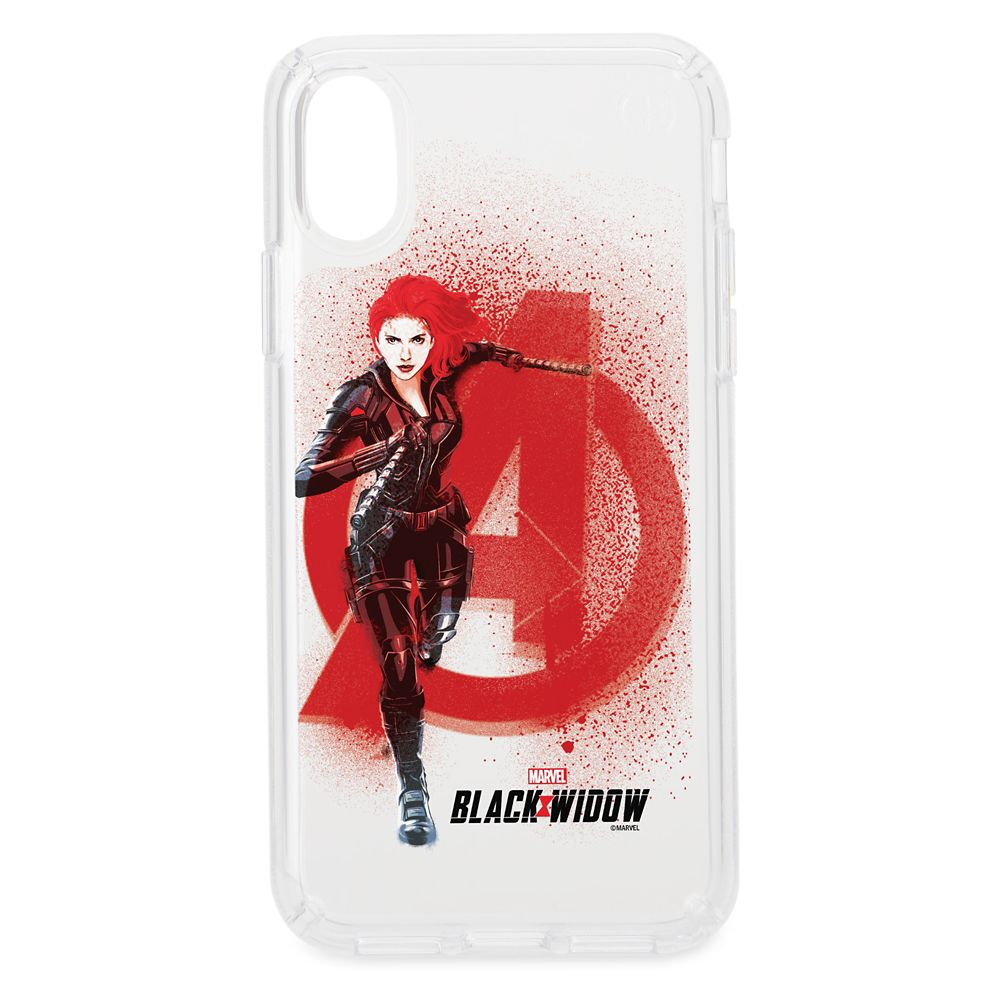 Black Widow Avenger Spraypaint Speck iPhone Case – Customized