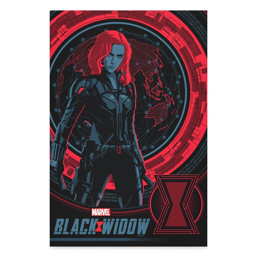 Black Widow Global Spy Canvas Print – Customized