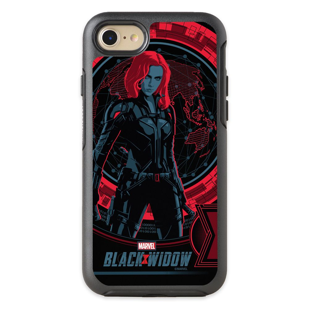 Black Widow Global Spy OtterBox iPhone Case – Customized