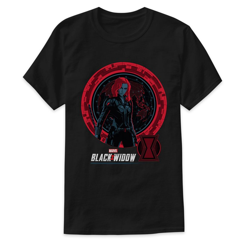 Black Widow Global Spy T-Shirt for Adults – Customized