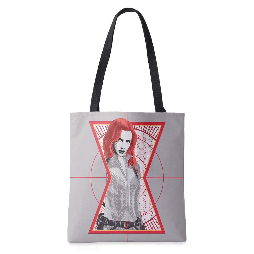 Black Widow Target Tote Bag – Customized