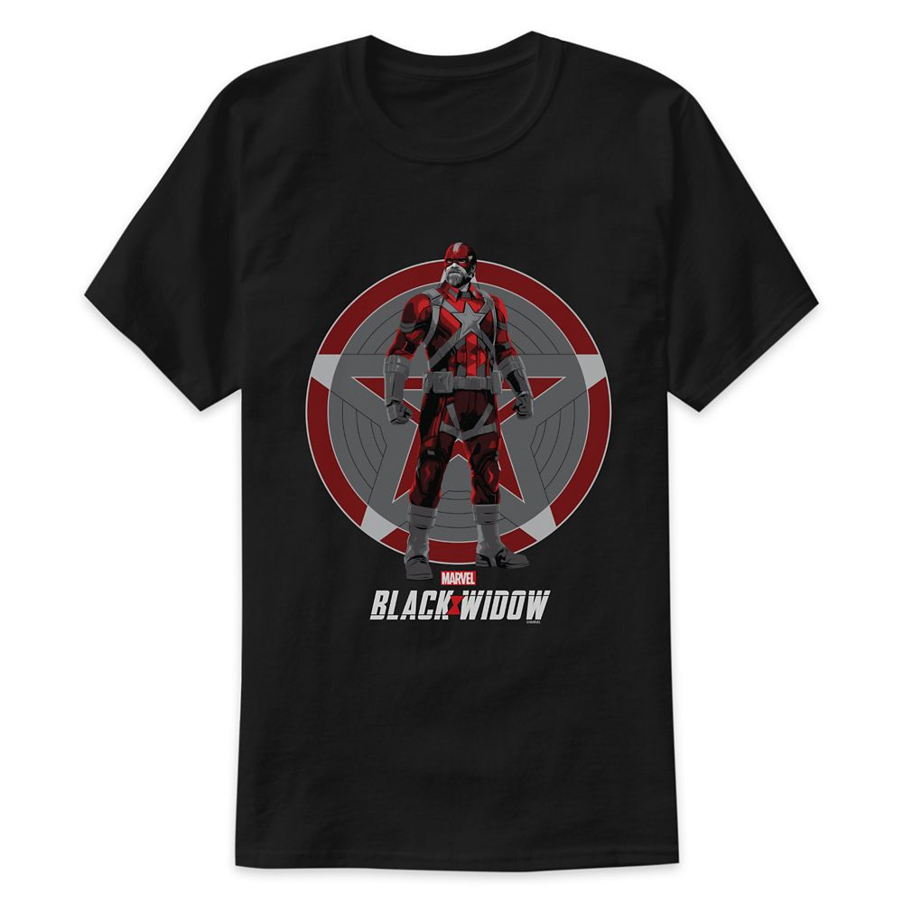 Red Guardian Illustration T-Shirt for Adults – Black Widow – Customized