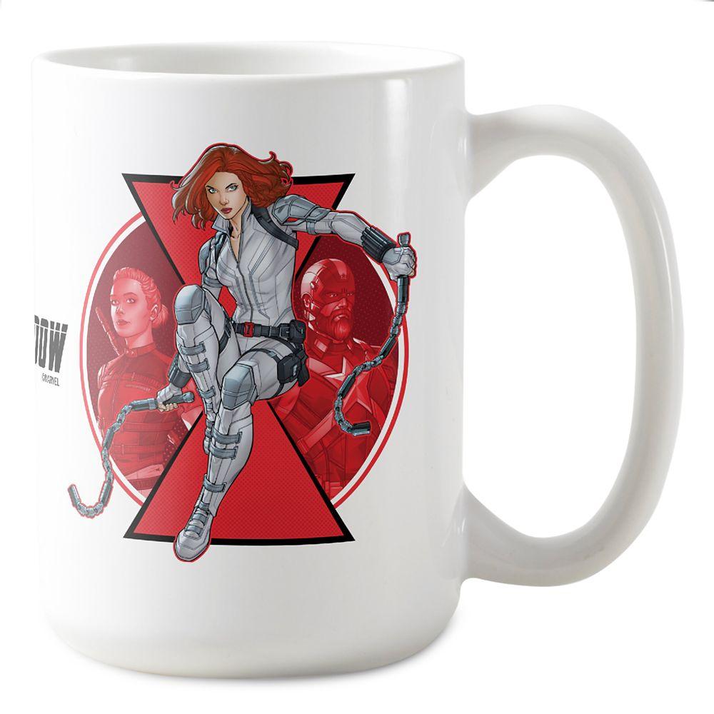 Black Widow, Yelena, and Red Guardian Badge Coffee Mug – Customized