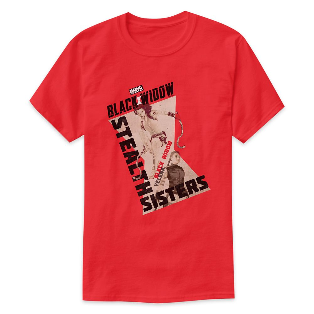 Stealth Sisters Black Widow and Yelena T-Shirt for Adults – Customized