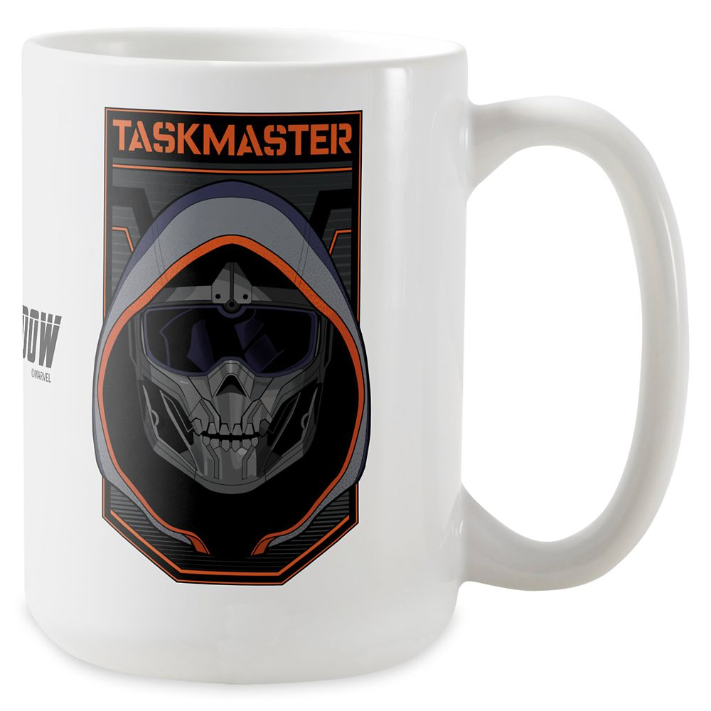 Taskmaster Skull Badge Coffee Mug – Black Widow – Customized