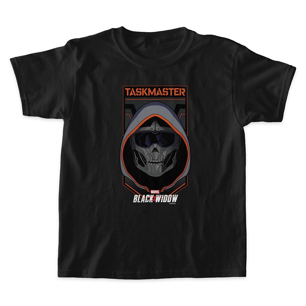 Taskmaster Skull Badge T-Shirt for Kids – Black Widow – Customized