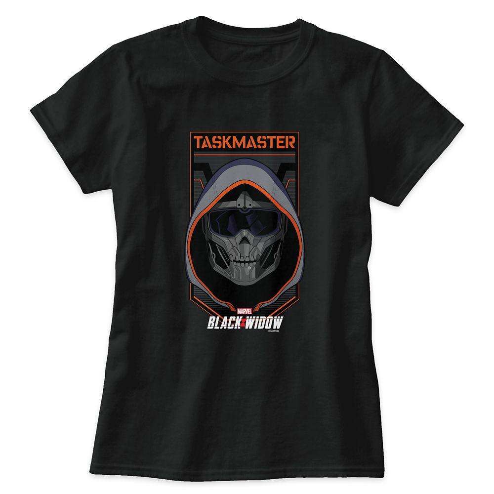 Taskmaster Skull Badge T-Shirt for Adults – Black Widow – Customized