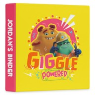 Monsters At Work ''Giggle Powered'' Three-Ring Binder – Customized