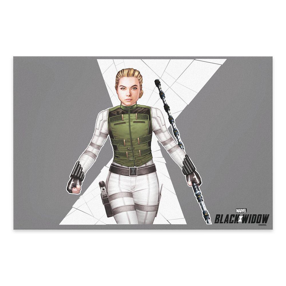 Yelena Canvas Print – Black Widow – Customized