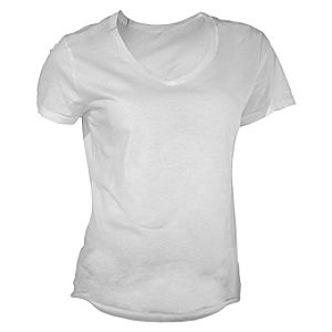 Customized V-Neck Tee for Women – Double Sided