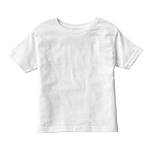 White Tee for Girls - Customizable
