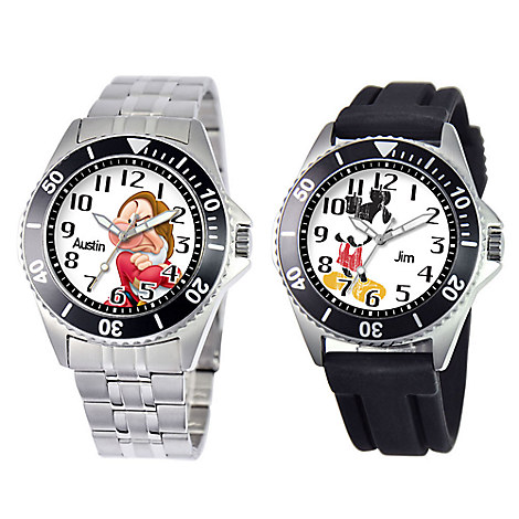 Stainless Steel Watch for Men - Minute Dial - Customizable