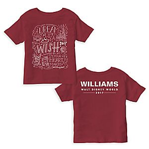 Sorcerer Mickey Mouse 2017 Walt Disney World ''A Dream...' Quote Tee for Kids - Customizable
