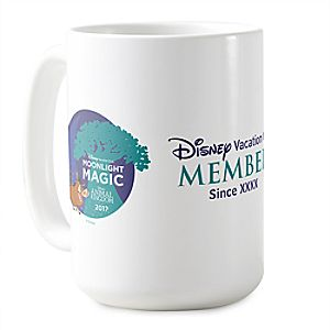 Disney Vacation Club Moonlight Magic at Disney's Animal Kingdom Mug - Customizable - Limited Release