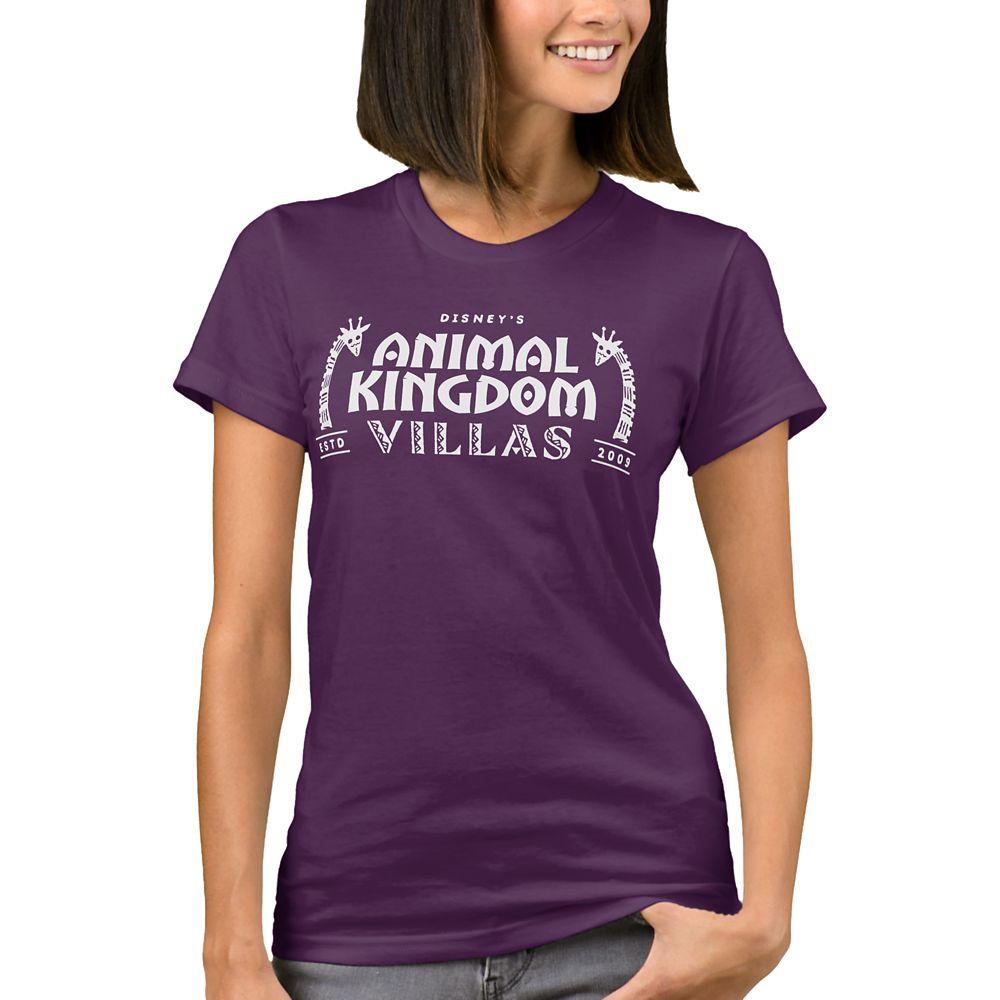 Disney Vacation Club Animal Kingdom Lodge T-Shirt for Women  Customizable