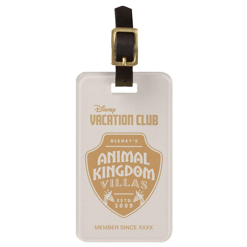 Disney Vacation Club Animal Kingdom Villas Luggage Tag  Customizable