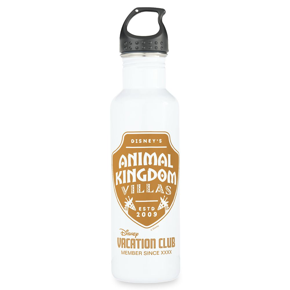 Disney Vacation Club Animal Kingdom Lodge Water Bottle – Customizable