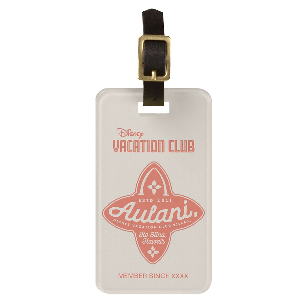 Disney Vacation Club Aulani, A Disney Resort & Spa Luggage Tag  Customizable