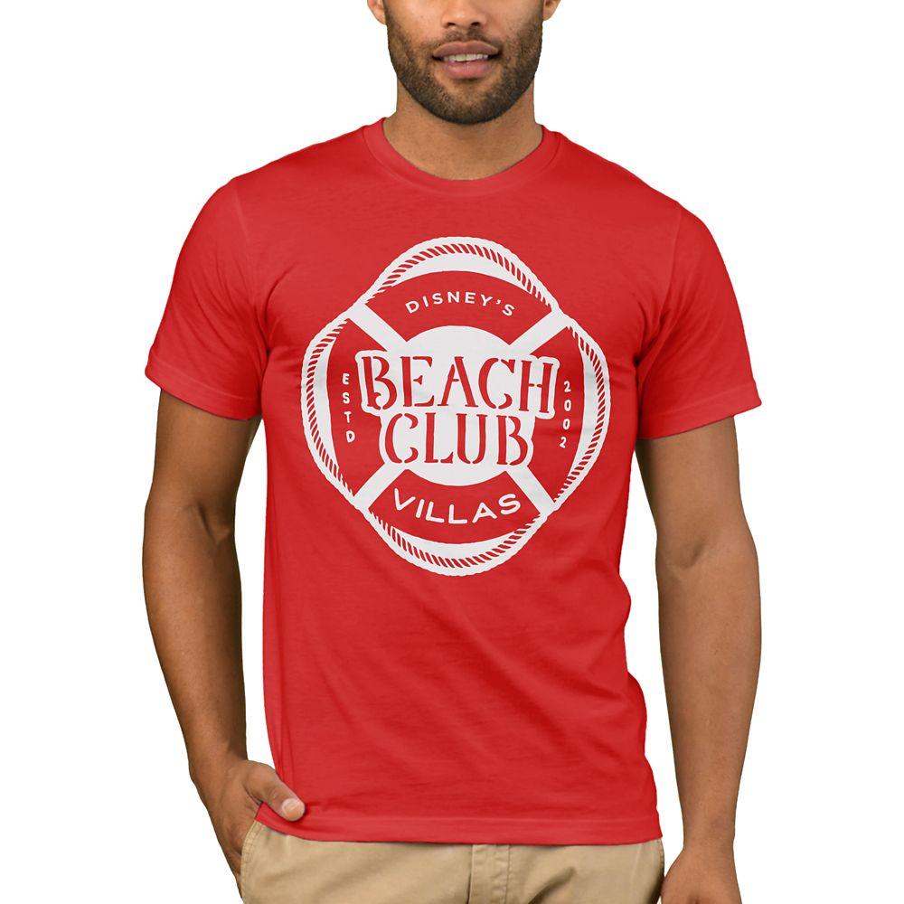 Disney Vacation Club Beach Club T-Shirt for Men – Customizable