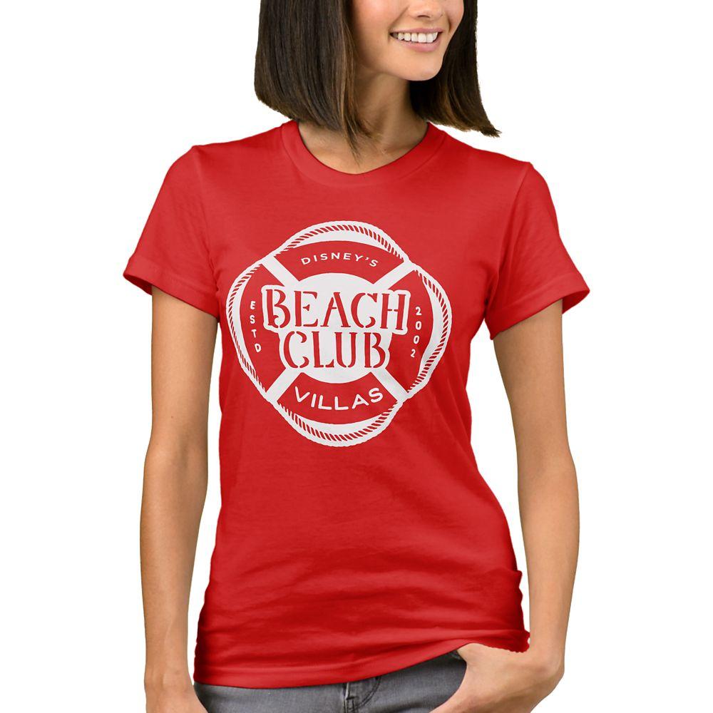 Disney Vacation Club Beach Club T-Shirt for Women  Customizable