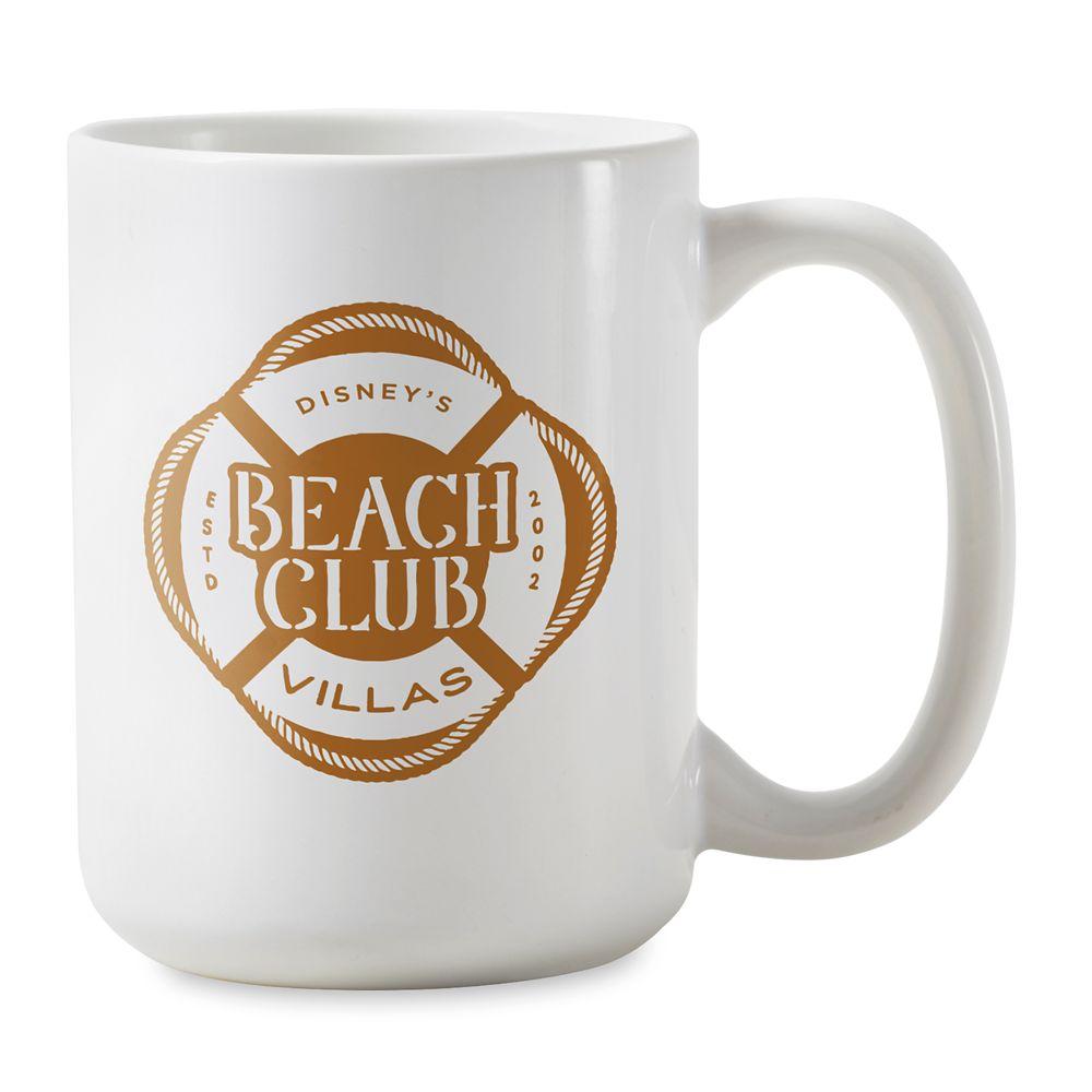 shopdisney.com - Disney Vacation Club Beach Club Villas Mug  Customizable 16.95 USD