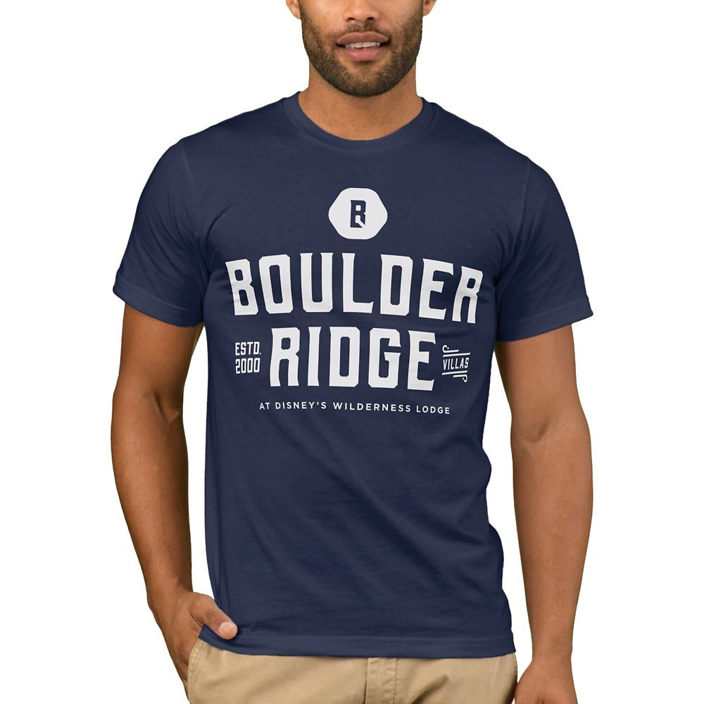Disney Vacation Club Boulder Ridge T-Shirt for Men – Customizable