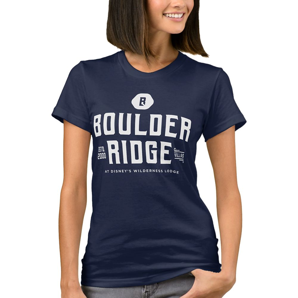 Disney Vacation Club Boulder Ridge T-Shirt for Women  Customizable