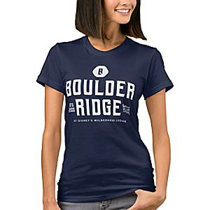 Disney Vacation Club Boulder Ridge T-Shirt for Women - Customizable