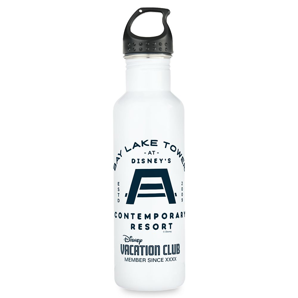 shopdisney.com - Disney Vacation Club Bay Lake Tower Water Bottle  Customizable 24.95 USD