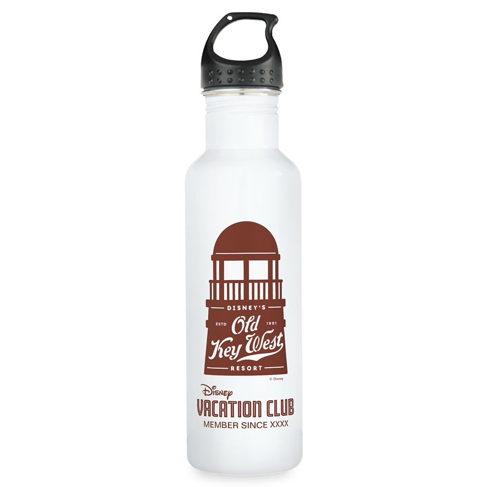 shopdisney.com - Disney Vacation Club Old Key West Resort Water Bottle  Customizable 24.95 USD