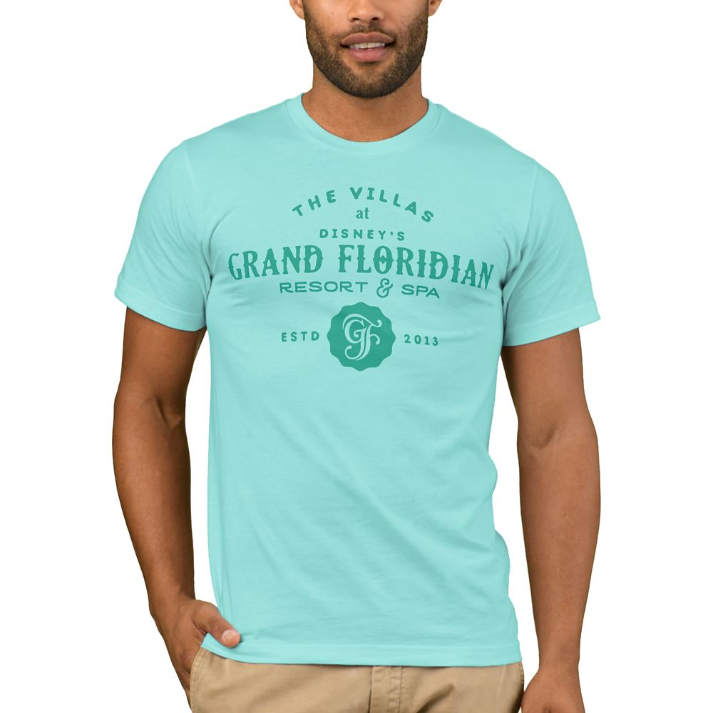 Disney Vacation Club Grand Floridian Resort & Spa T-Shirt for Men  Customizable