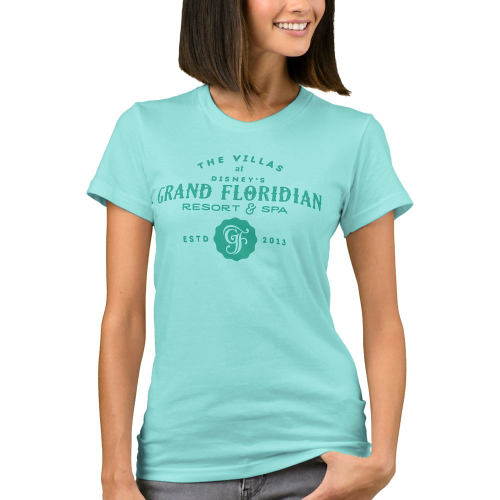 Disney Vacation Club Grand Floridian Resort & Spa T-Shirt for Women – Customizable