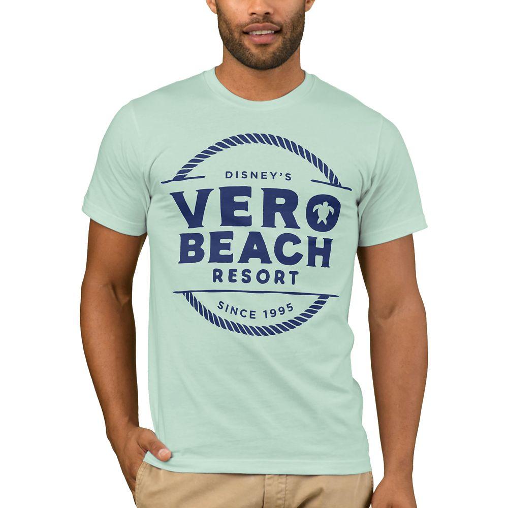 Disney Vacation Club Vero Beach Resort T-Shirt for Men – Customizable