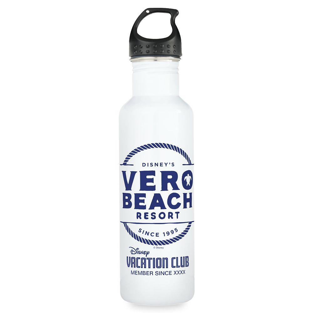Disney Vacation Club Vero Beach Resort Water Bottle – Customizable