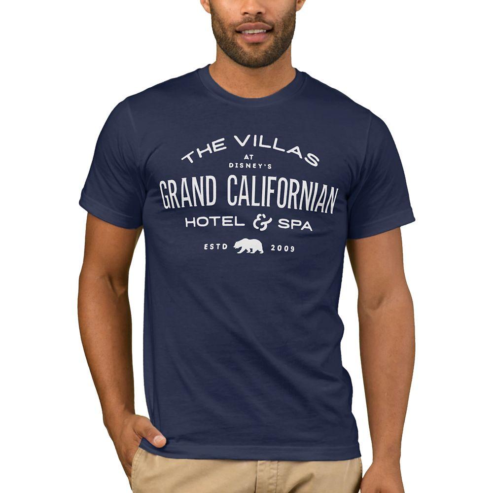 Disney Vacation Club Grand Californian Hotel & Spa T-Shirt for Men – Customizable