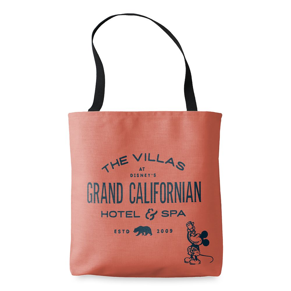 Mickey Mouse Disney's Grand Californian Hotel & Spa Tote – Customizable