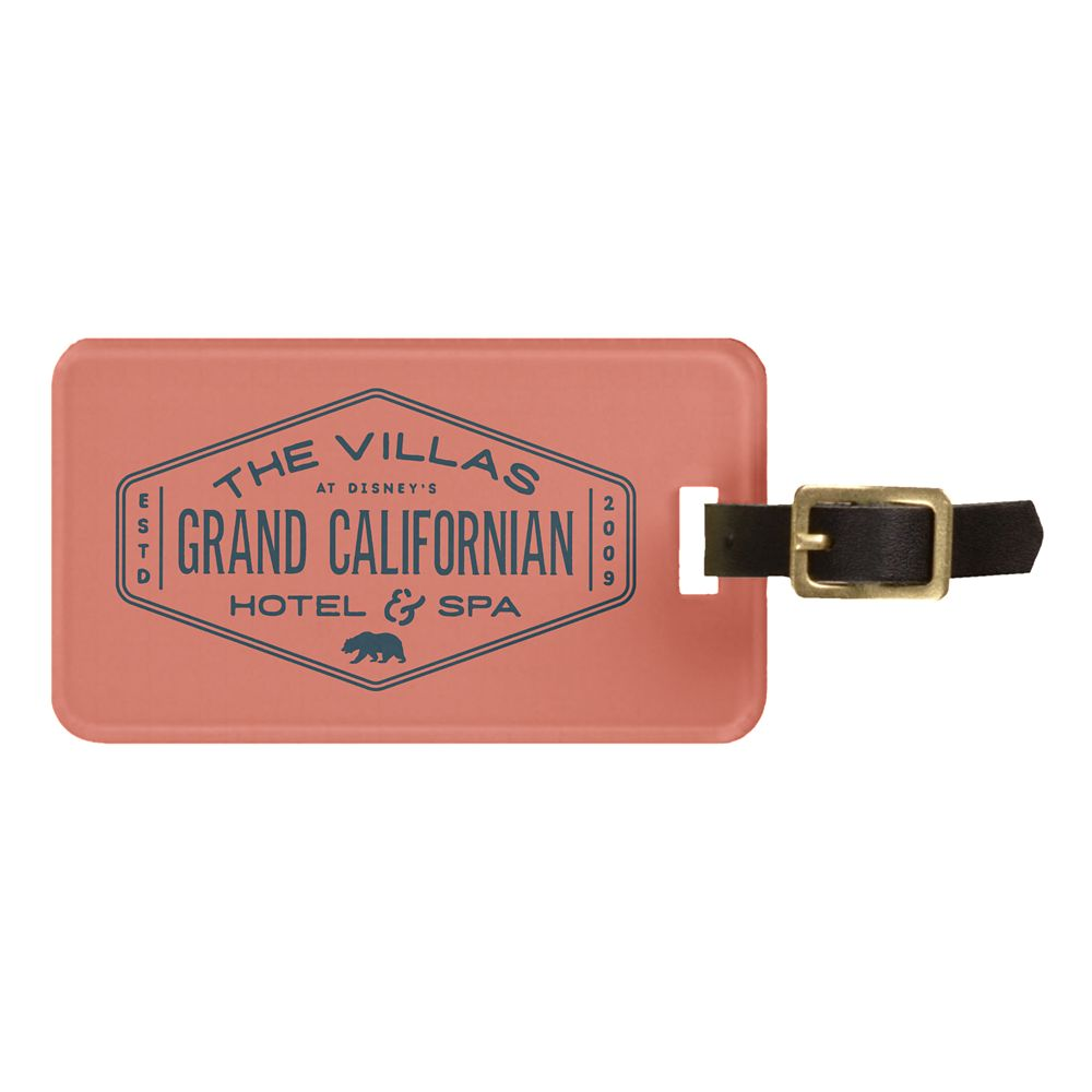 Disney's Grand Californian Hotel & Spa Luggage Tag  Customizable