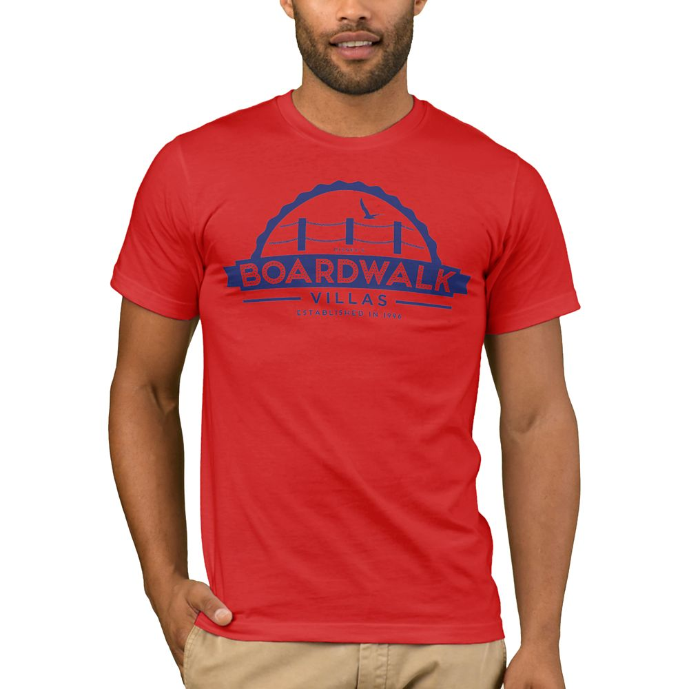 Disney Vacation Club BoardWalk Villas T-Shirt for Men  Customizable